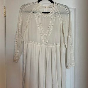 Aritzia Wilfred bohemian peasant dress
